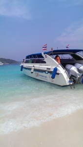 Our speedboat
