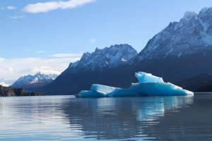 Blue ice!