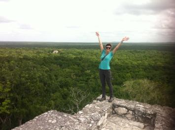 atop Calakmul