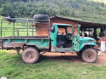 My ride in the Perija mountains