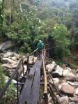 The bridge to the lodge