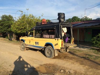 Arrival in Puerto Pinzon