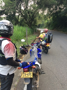 Our rides up to km 3