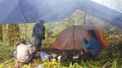 Campsite Tiga Blas