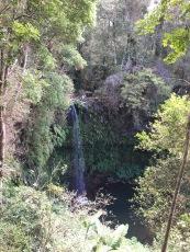 Waterfall near the campsite